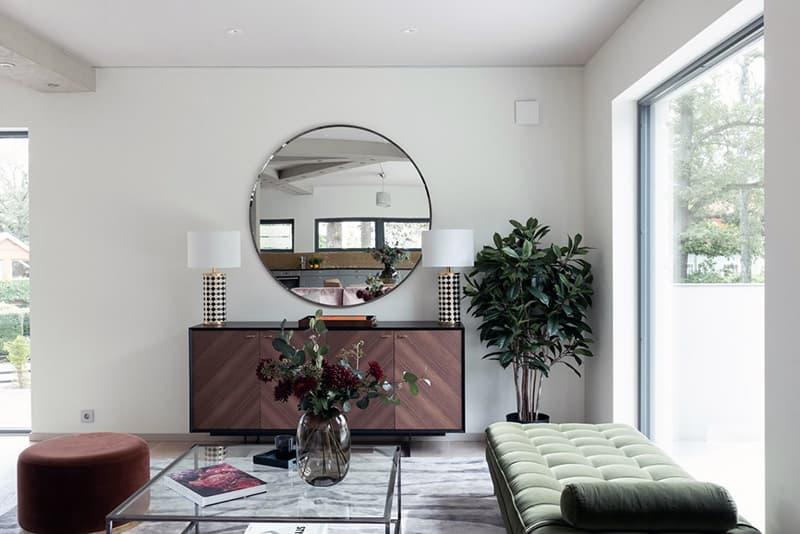 Использование зеркала в интерьере квартиры