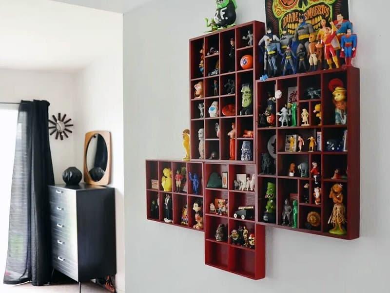 Личные вещи как элемент декора комнаты