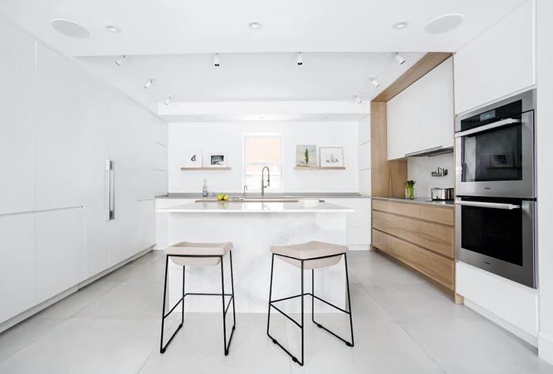 Мінімалістичний дизайн кухні в квартирі