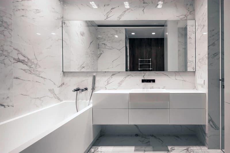 Мінімалістичний дизайн ванної кімнати