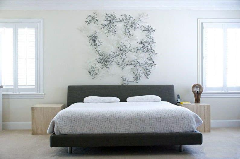 Мінімалістичний інтер'єр спальні