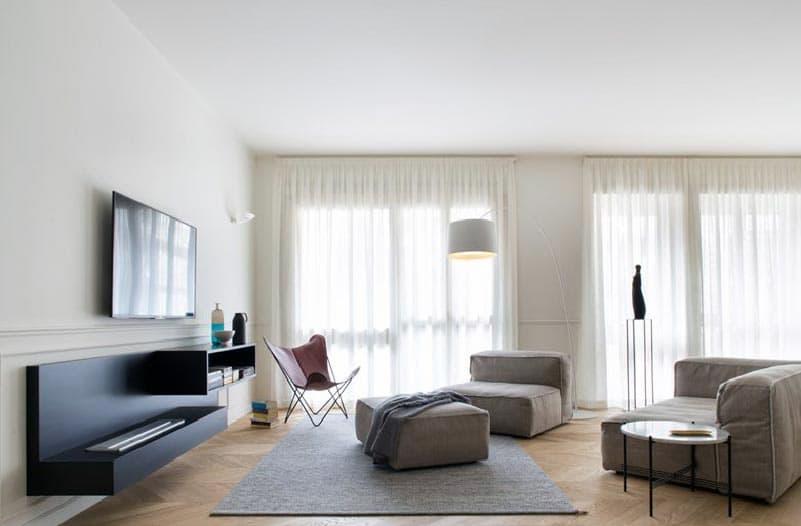 Невеликий декор кімнати в стилі мінімалізм