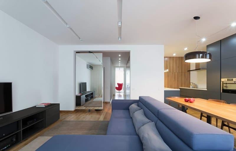Оформление стен для дизайна в стиле минимализм