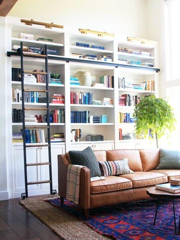 Пример наслаивания ковров в комнате