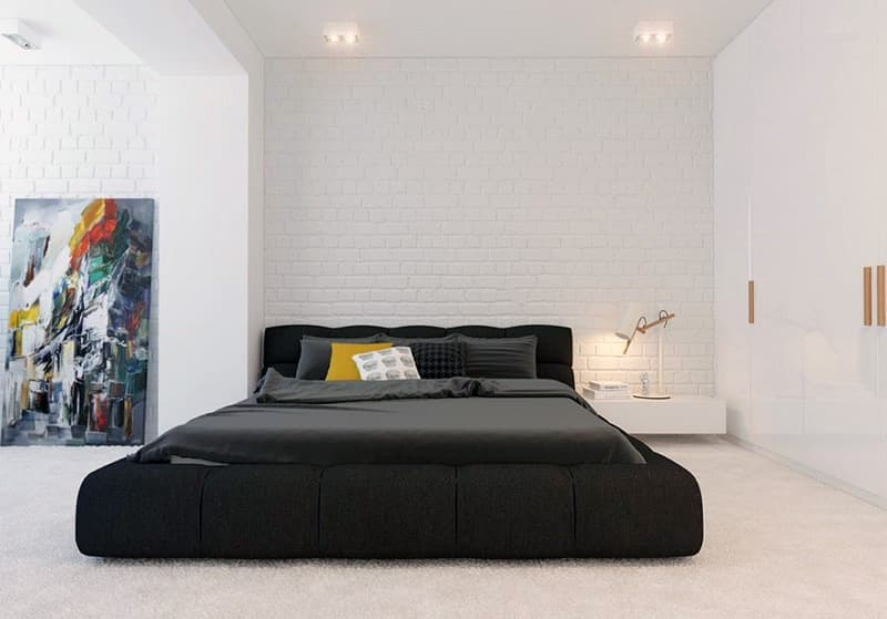 Приклад спальні в стилі мінімалізм