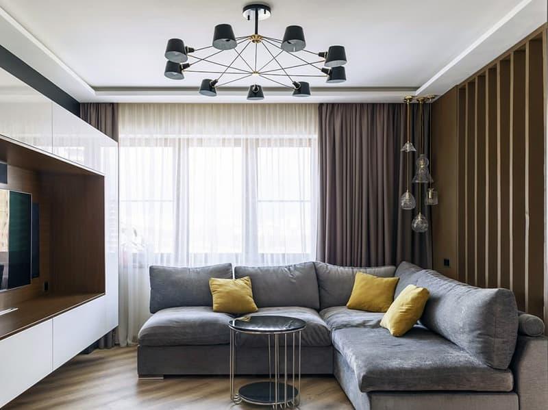 Світильник для оформлення мінімалістичного дизайну кімнати