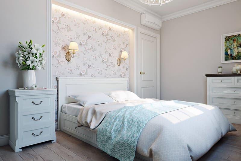 Світла палітра в декорі кімнати