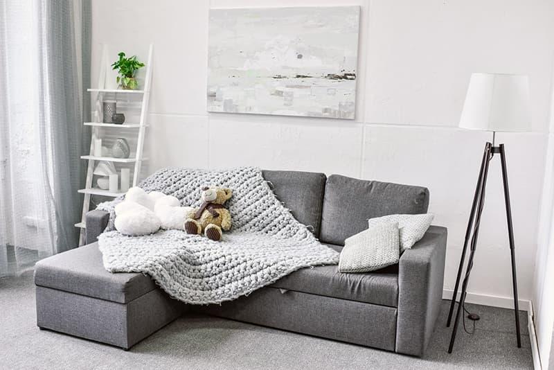 Текстильные элементы декора для комнаты