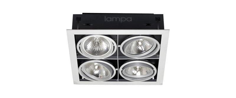 Точечные светильники на четыре лампы