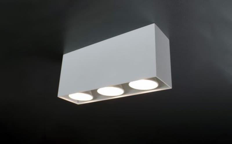 Точечные светильники на три лампы