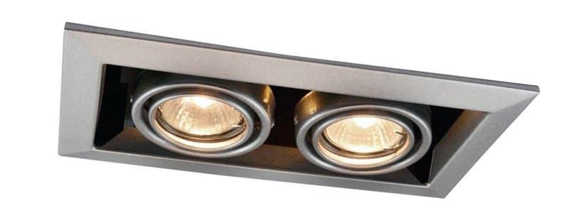 Точечные светильники с двумя источниками света