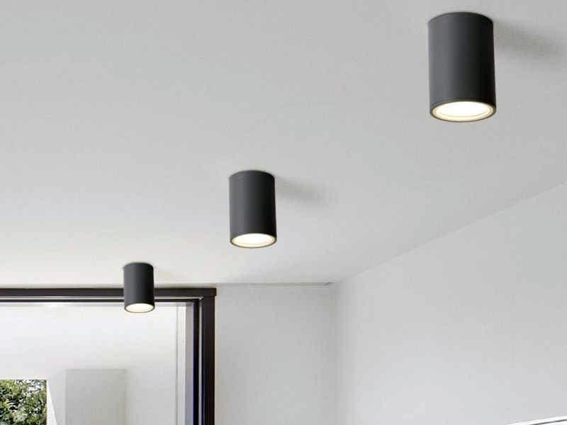 Точечные светильники в стиле лофт