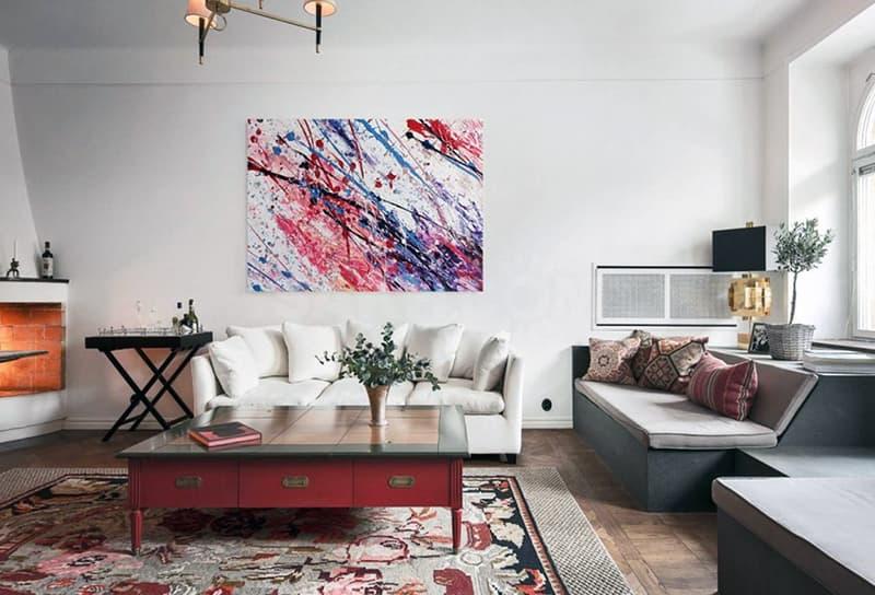 Затишок в будинку за допомогою картин