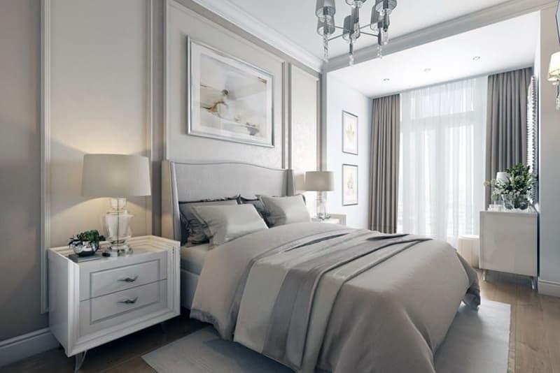 Уютное стильное пространство в комнате