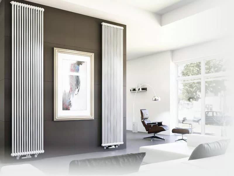 Вертикальная батарея отопления для дома