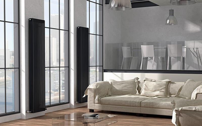 Вертикальный радиатор для дома