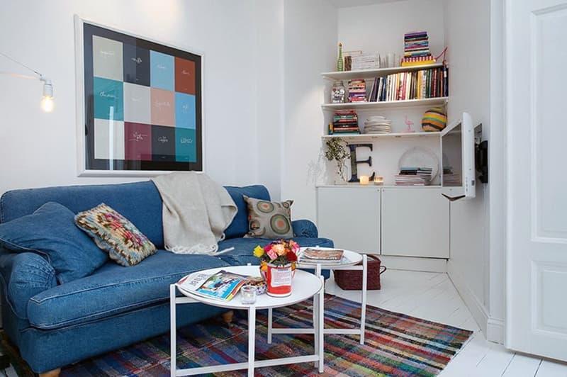 Визуальное увеличение пространства маленькой комнаты