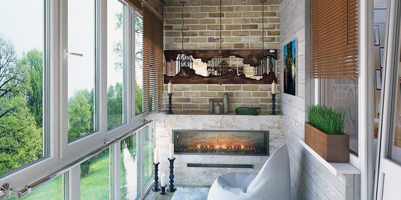 Дизайн балкона і ідеї оформлення лоджії