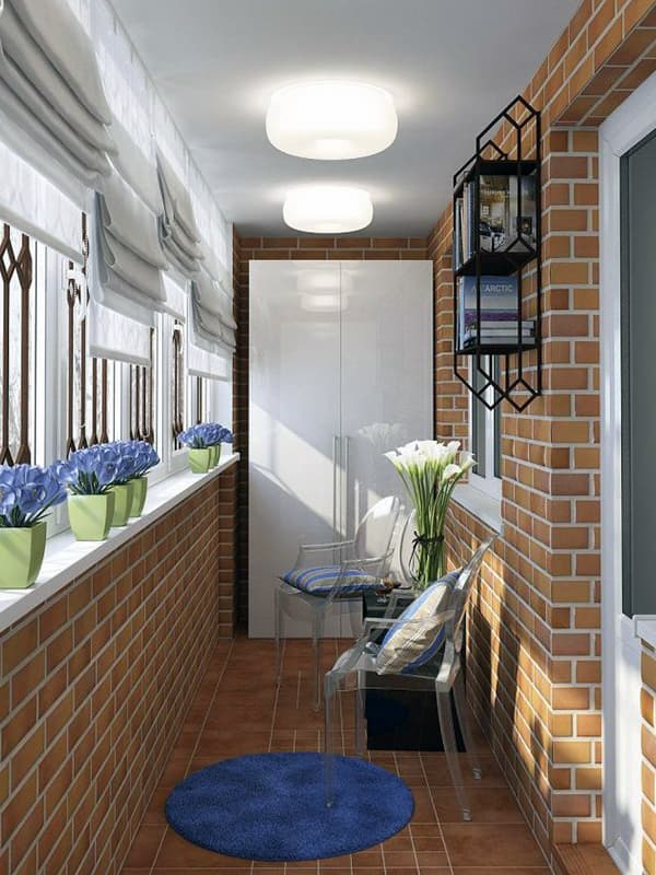 Дизайн балкона своїми руками