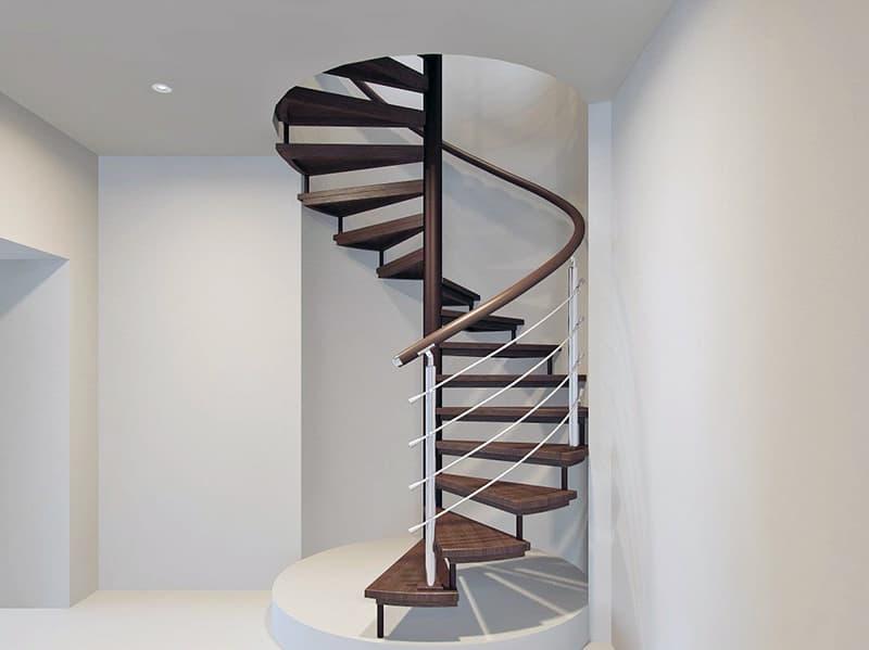 Компактні гвинтові сходи
