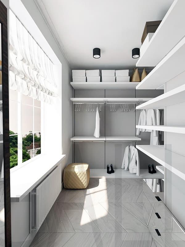 Організація вбиральні на балконі