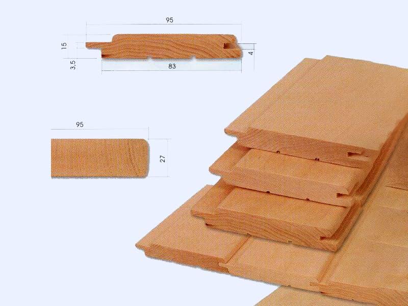 Оздоблювальні матеріали для стін лазні