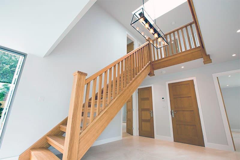 Пример прямой маршевой лестницы