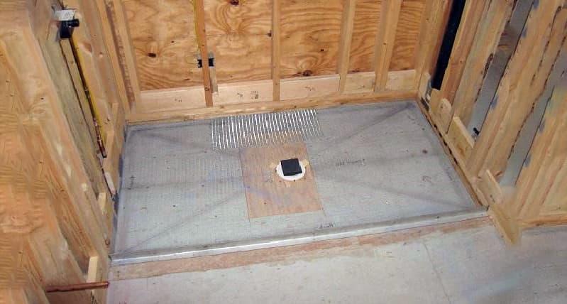 Приклад укладання підлоги в лазні