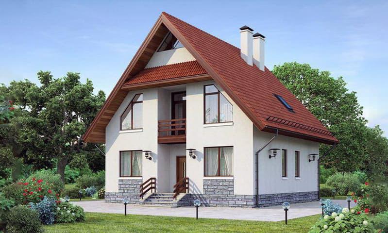 Вартість будівництва двоповерхового будинку з цегли і газобетону