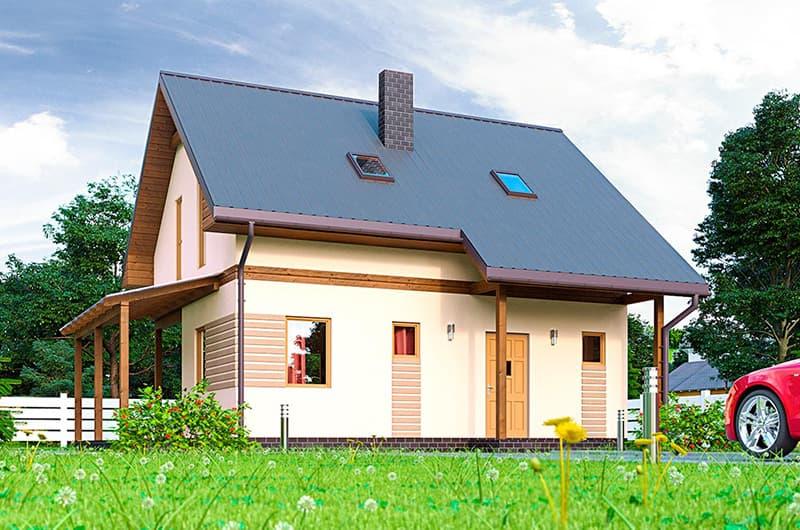 Вартість будівництва двоповерхового будинку площею 140 квадратних метра