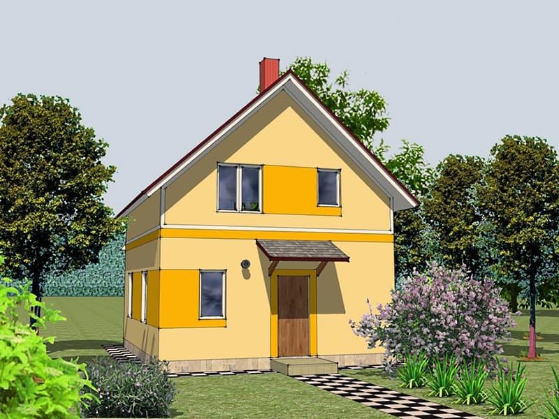 Вартість будівництва двоповерхового будинку
