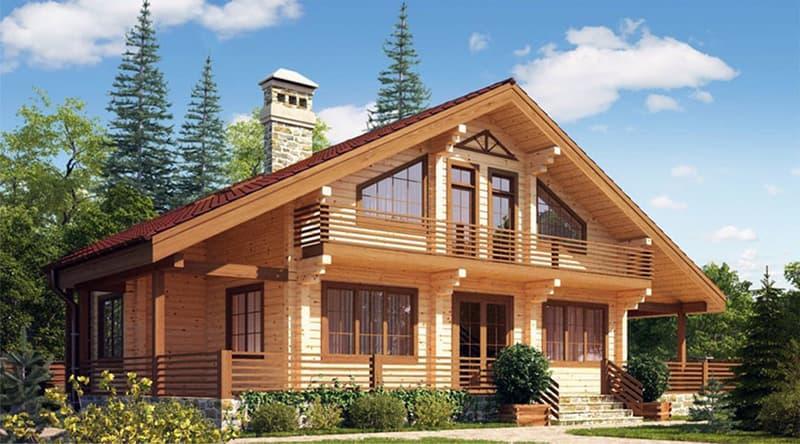 Будівництво будинку з дерева