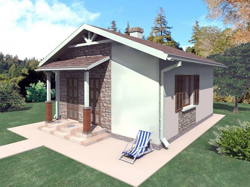 Будівництво невеликого каркасного будинку