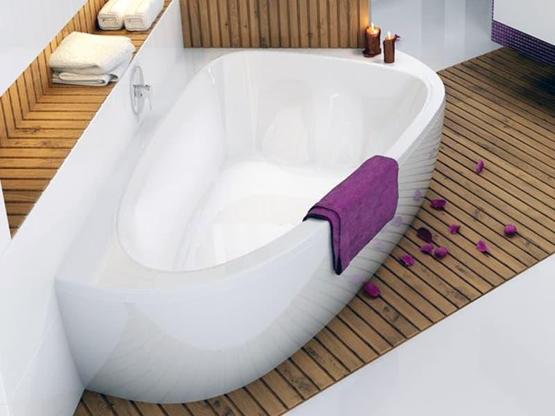 Дизайн асимметричной ванны