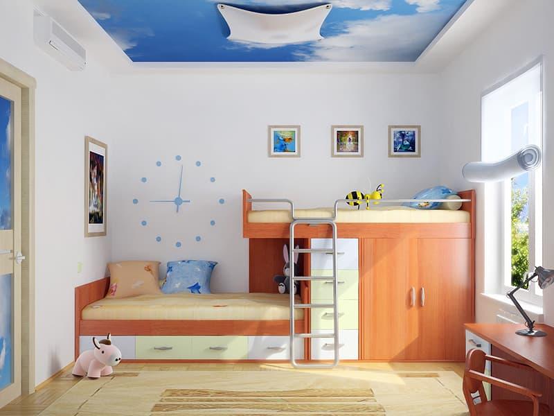 Моющаяся водостойкая краска для стен детской комнаты
