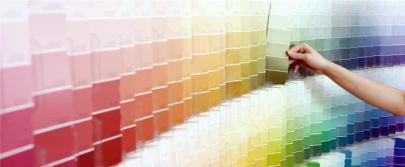 Выбор краски для потолка и стен