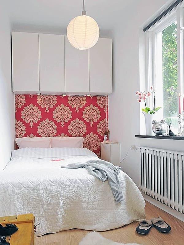 Выбор краски для стен для маленькой комнаты