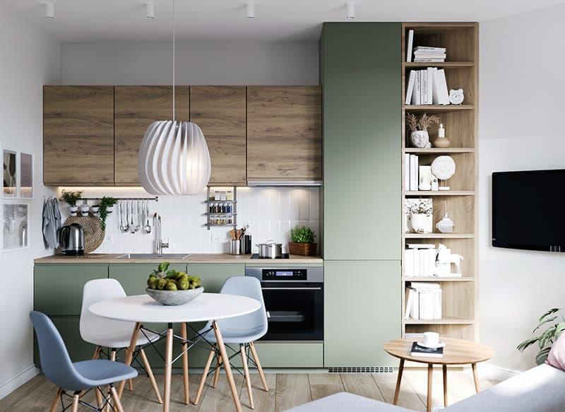 Как оформить кухню в скандинавском стиле
