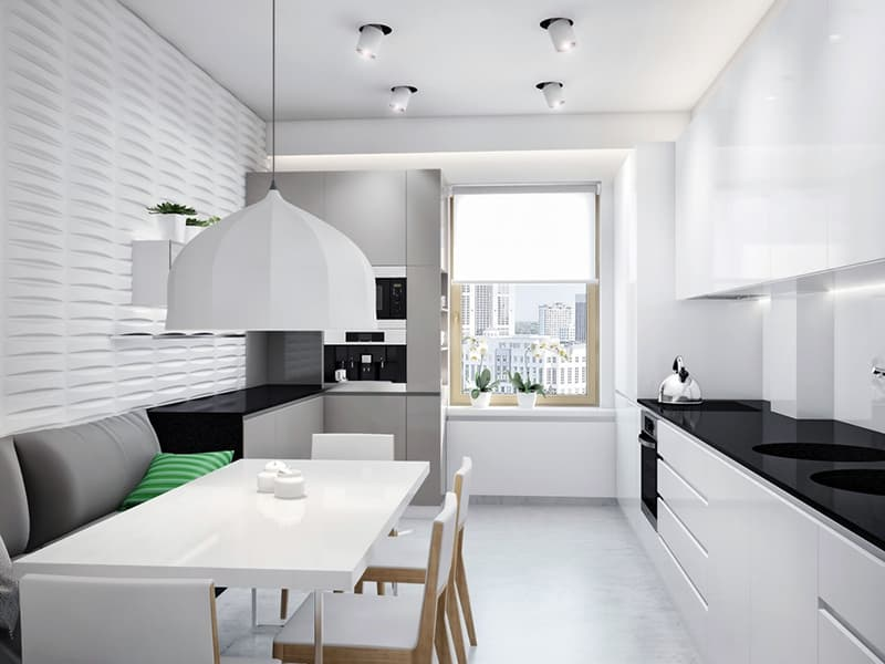 Минималистичный дизайн кухни