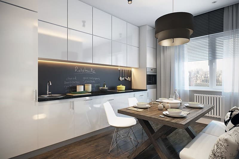 Обустройство минималистичной кухни