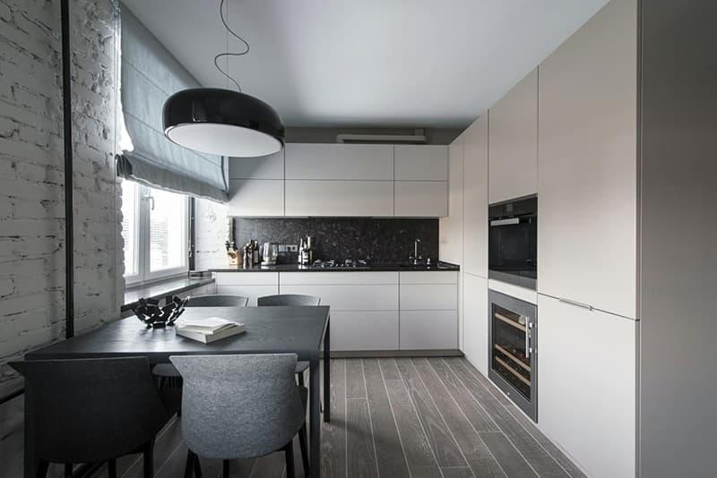 Обустройству кухни с дизайном в стиле минимализм