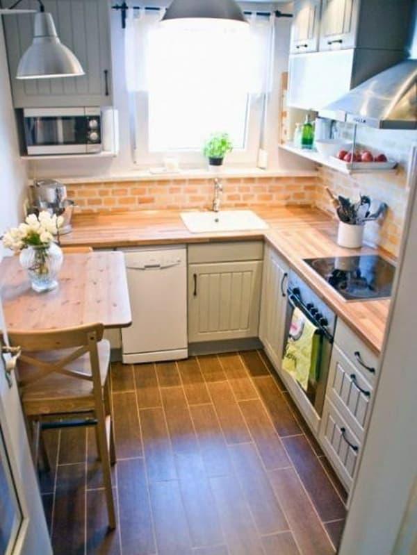 Оформлення кутовий кухні
