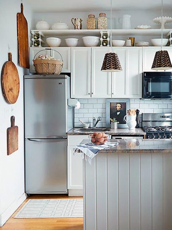 Освещение и декор на кухне