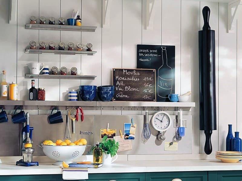 Пример декора на кухне