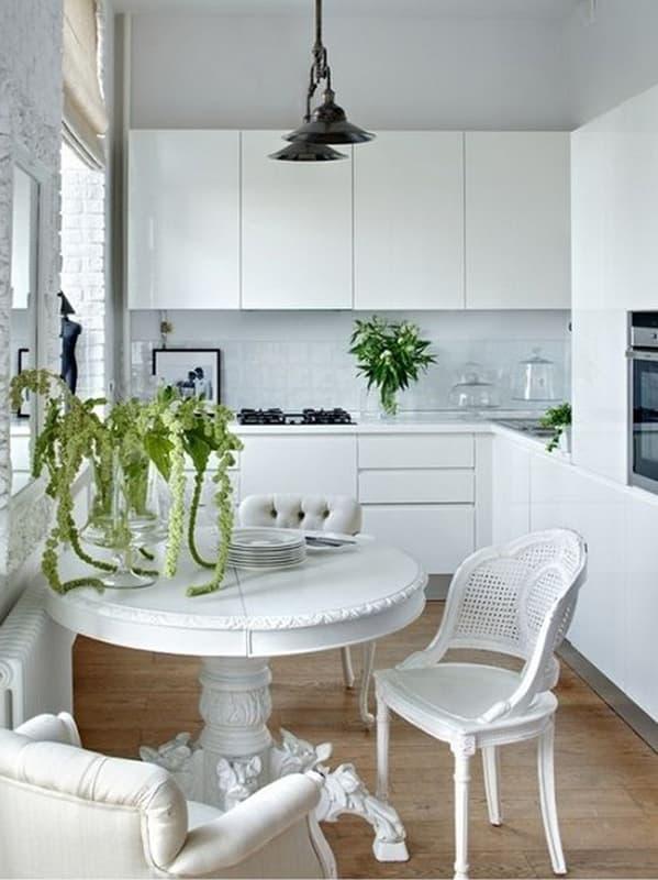 Пример дизайна угловой кухни