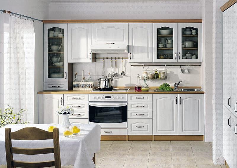 Пример прямой кухни