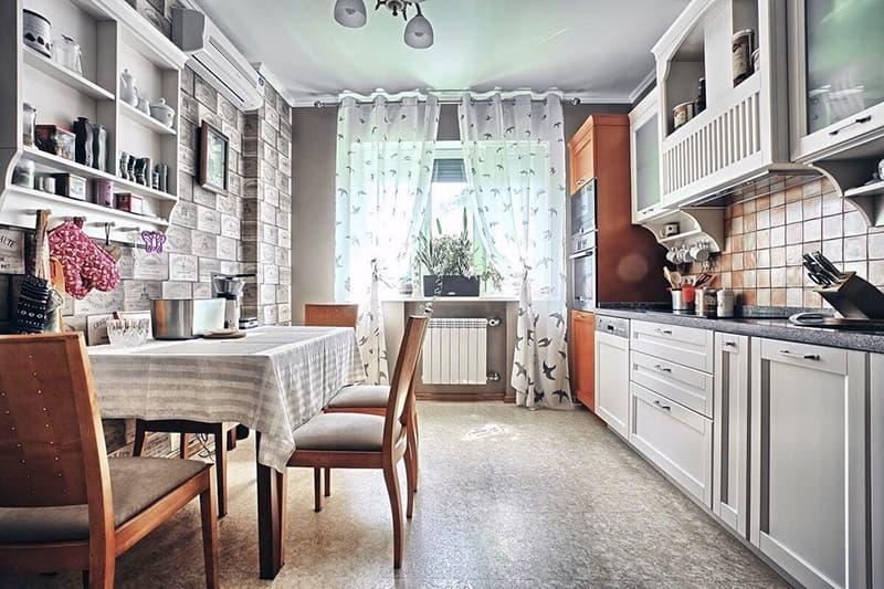 Стильная кухня в стиле прованс