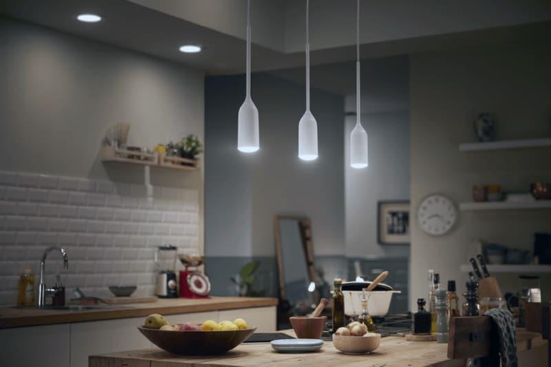 Удобные светильники для кухни