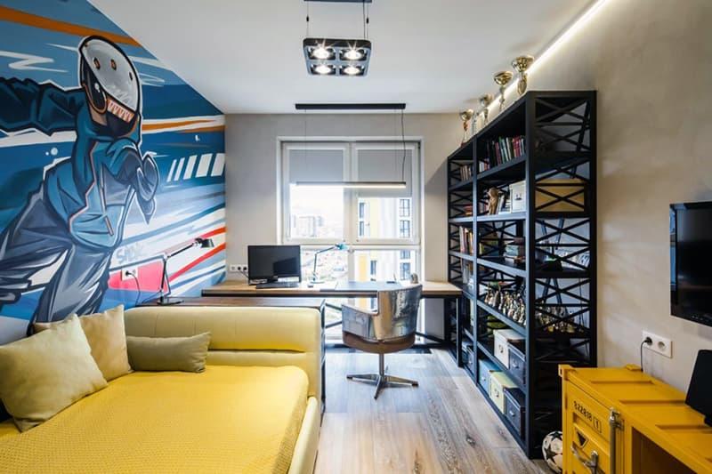 Дизайн комнаты подростка с учетом интересов
