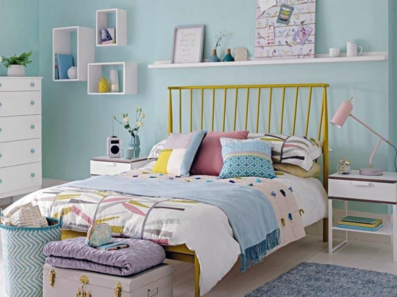 Идея с двуспальной кроватью
